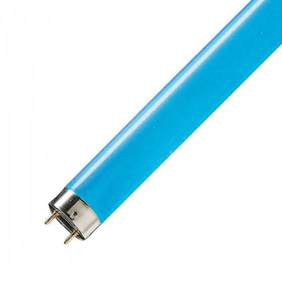 Tub neon fluorescent TL-D Colored 36W/18 Blue
