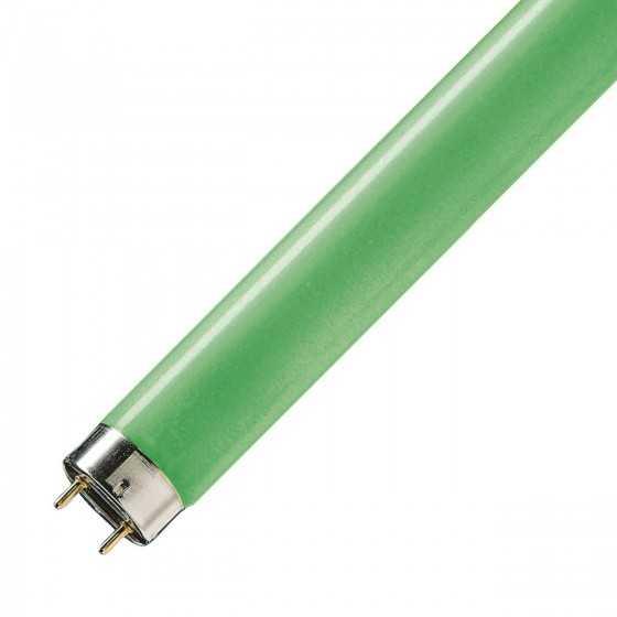 Tub neon fluorescent TL-D Colored 18W/17 Green