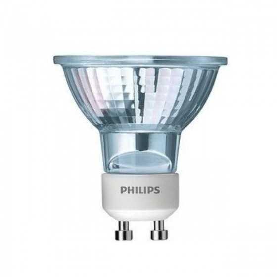 Set 3 Becuri Halogen Philips Accentline 50W GU10 230V 40D 2700K