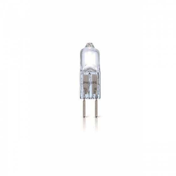 Set 2 Becuri Halogen Philips Capsule 7W(10W) G4 12V 2700k Clar