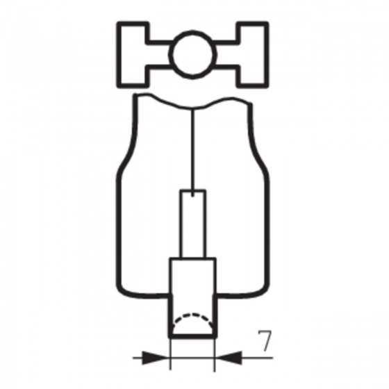 Bec Halogen Philips Plusline ES Compact 78mm 120W R7s 2900K