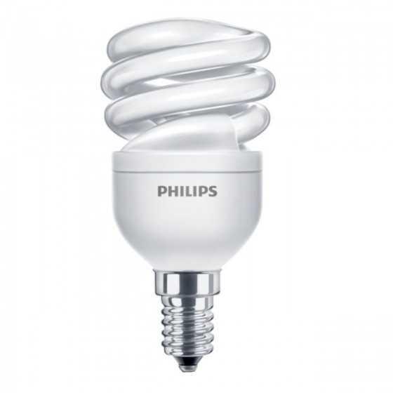 Bec Economic Philips Economy Twister 8W(45W) E14 WW 2700K
