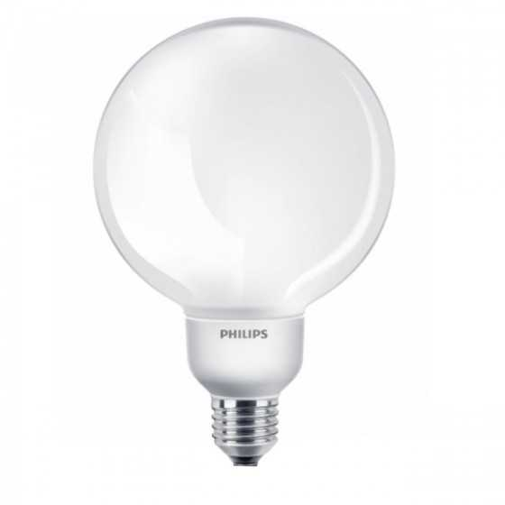 Bec Economic Philips SOFTONE Globe 16W(70W) E27 WW 2700K