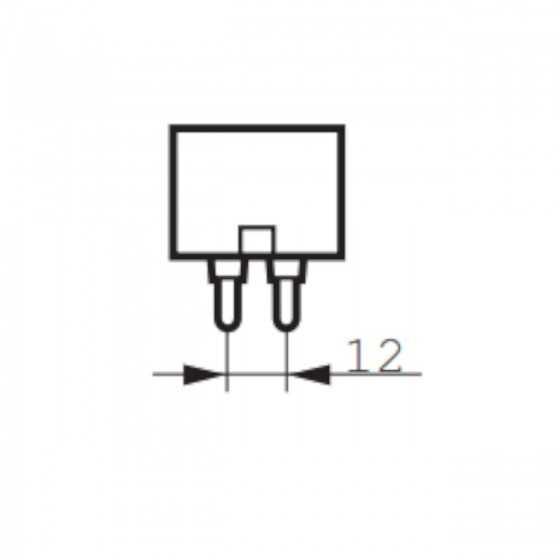 Bec Vapori Sodiu Philips MASTER SDW-T 100W PG12-1 2500K