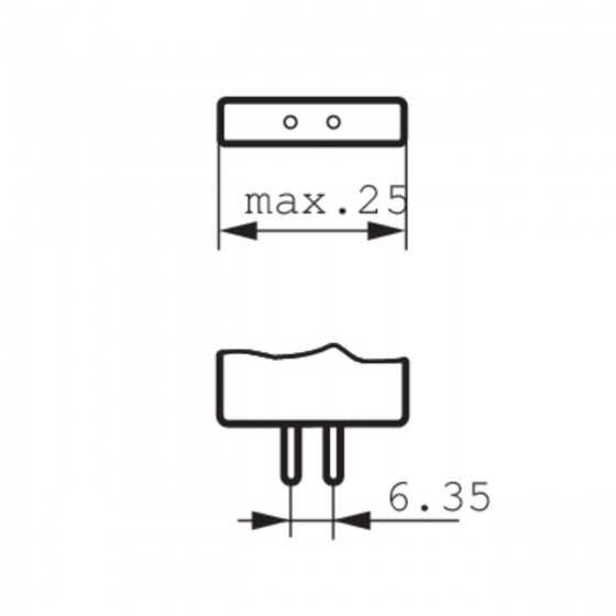 Bec Halogen Philips Proiector 7724 100W G6.35 12V Clar