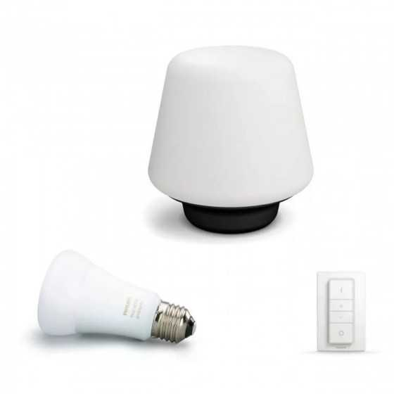 Lampa LED Philips Hue Wellnes Led Ambiance 40801/30/P7 9.5W (60W) 806lm lumina alba calda-rece + intrerupator dimmer