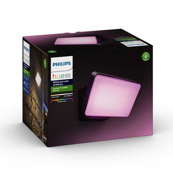 Proiector Exterior LED Philips Hue Discover 17435/30/P7 15W (79W) 2300lm lumina RGB