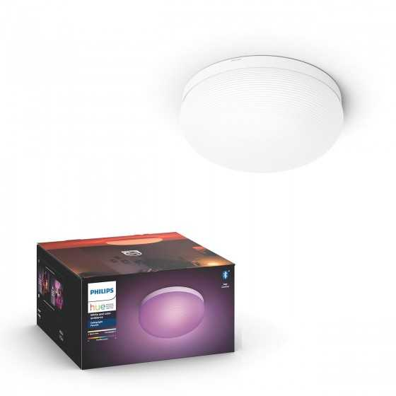 Plafoniera LED Philips Hue Flourish 40905/31/P9 Bluetooth 32W (175W) 2400lm lumina RGB