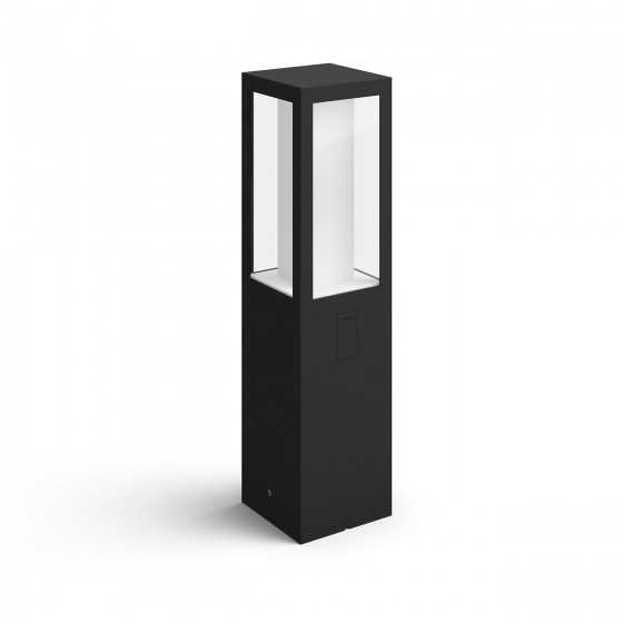 Stalp Exterior LED Philips Hue Impress 17431/30/P7 2x8W (49W) 1200lm lumina RGB