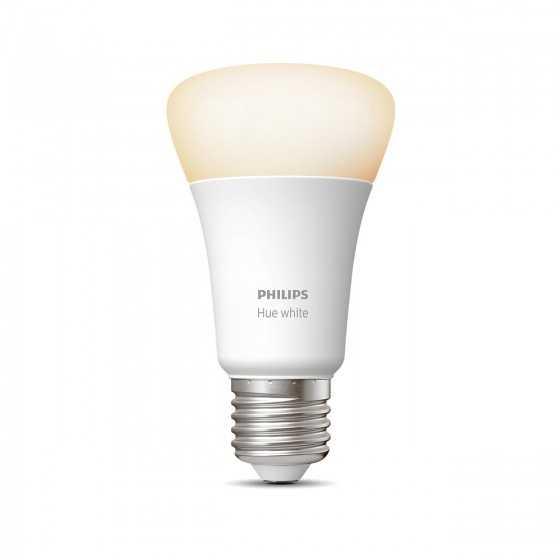 Bec LED Philips HUE White Bluetooth 9W(60W) E27 A60 806lm Lumina Alba Calda