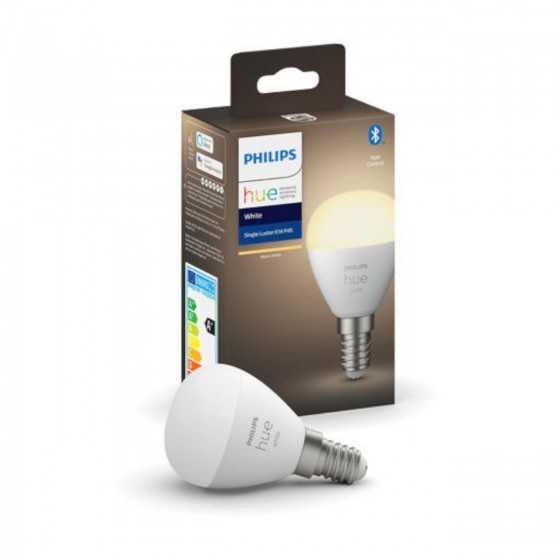 Bec LED Philips HUE Bluetooth 5.7W(40W) E14 P45 470lm Lumina Alba Calda