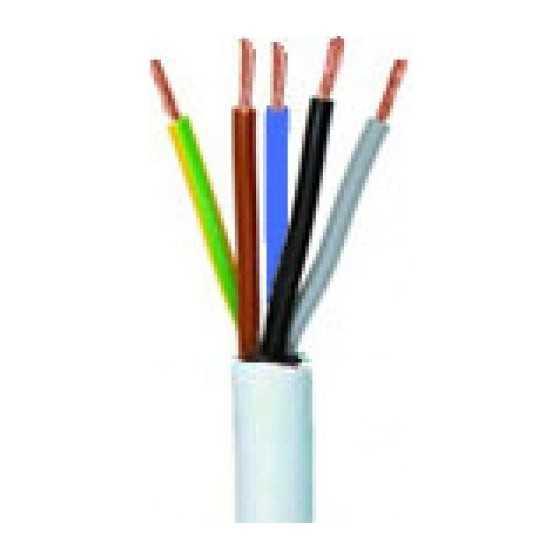 Cablu Electric MYYM 5x0.75