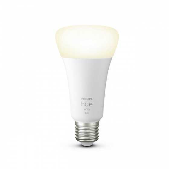 Bec LED Philips HUE Bluetooth 15.5W(100W) E27 A67 1600lm Lumina Alba Calda