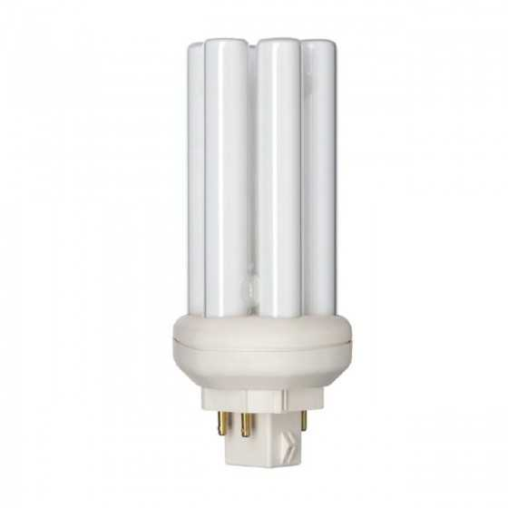 Bec Compact Fluorescent Philips Master PL-T 18W/830/4P GX24q-2