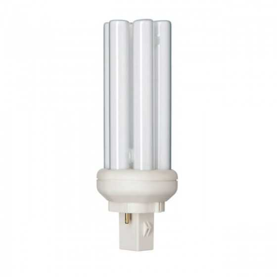 Bec Compact Fluorescent Philips Master PL-T 26W/827/2P GX24d-3
