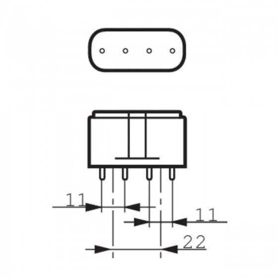 Bec Compact Fluorescent Philips Actinic BL PL-L 18W/10/4P 2G11, capcane Insecte