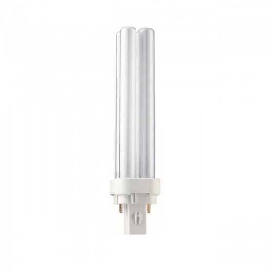 Bec Compact Fluorescent Philips Master PL-C 18W/840/2P G24d-2