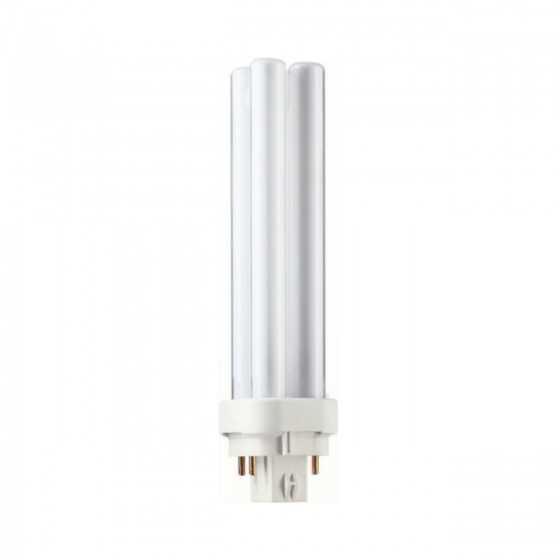 Bec Compact Fluorescent Philips Master PL-C 18W/827/4P G24q-2