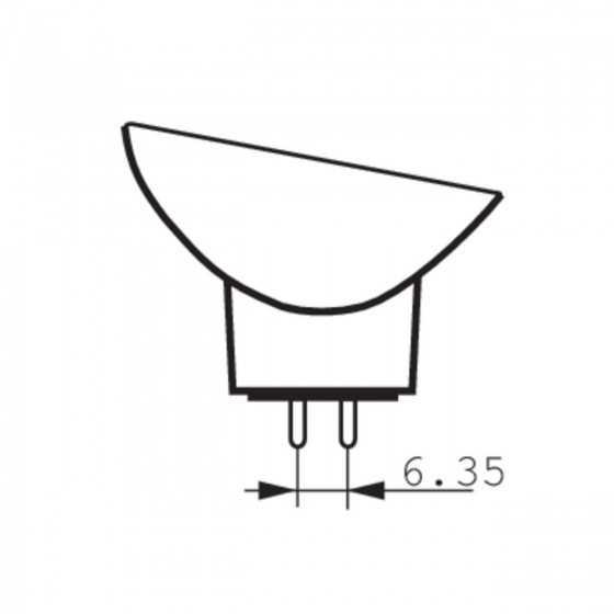 Bec Halogen Philips Proiector 13629 150W GX5.3 21V Clar