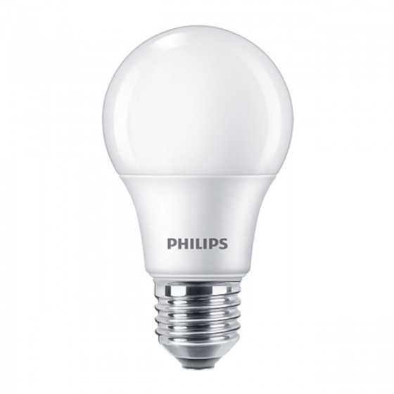 Set 3 becuri LED Philips 8W(60W) E27  806 lm 2700K Mat