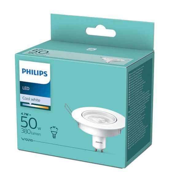 Bec LEDSpot Philips 4.7W(50W) GU10 380 lm 4000K