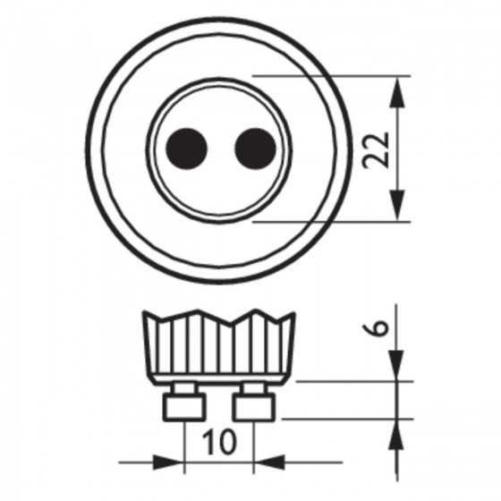 Bec LEDSpot CorePro Philips 4.6W(50W) GU10 390 lm 6500K