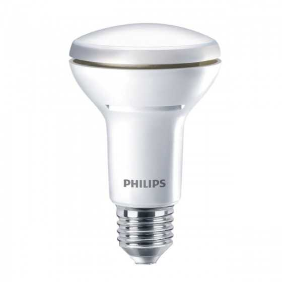 Bec LED Reflector Philips 5.7W(60W) E27 Dimabil R63 345 lm 2700K