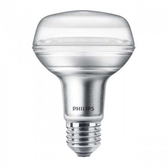 Bec LED Reflector Philips 4W(60W) E27 R80 345 lm 2700K