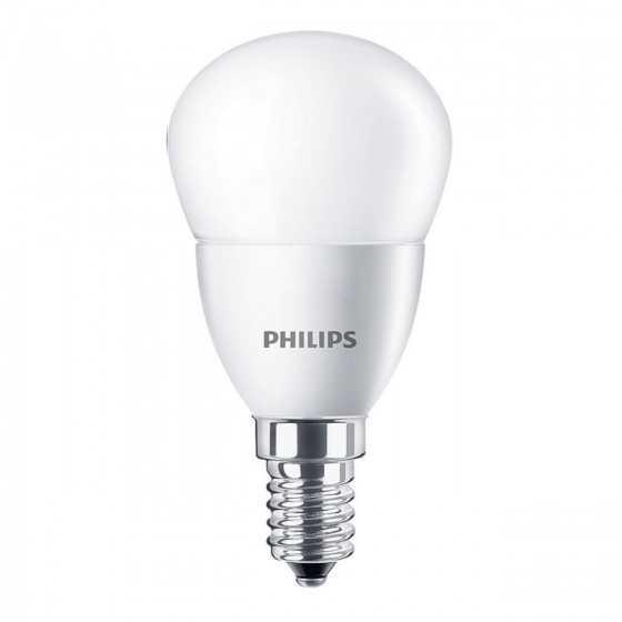 Bec LED Clasic Philips 5.5W(40W) E14 P45 470 lm 2700K Mat