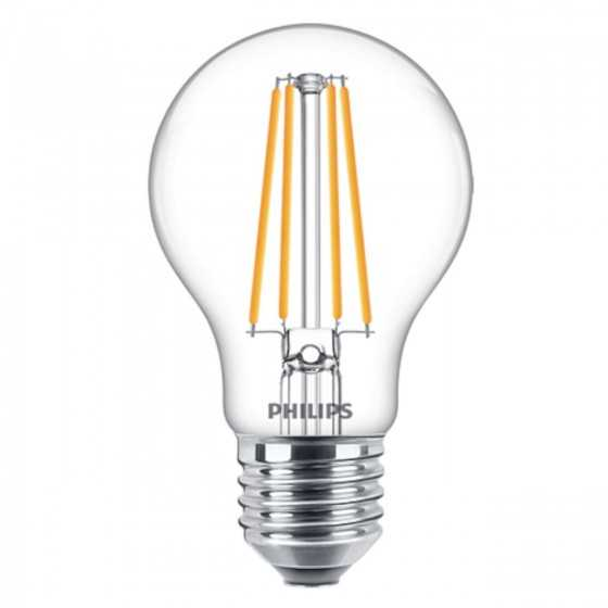 Bec LED Filament Philips 8.5W(75W) E27 A60 1055 lm 2700K Clar