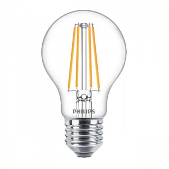 Bec LED Filament Philips 8.5W(70W) E27 A60 1055 lm 2700K Clar