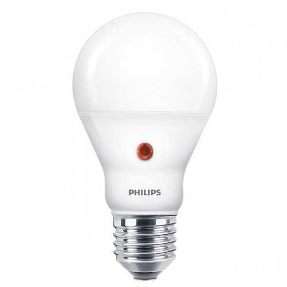 Bec LED cu Senzor Lumina Philips 6.5W (60W) E27 806 lm 4000K Mat