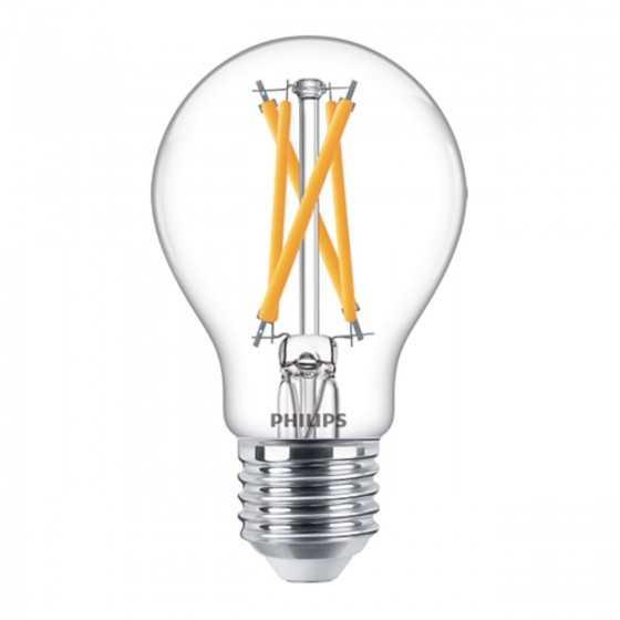 Bec LED Filament Philips 7W(60W) E27 Dimabil A60 806 lm 2000-2700K Clar
