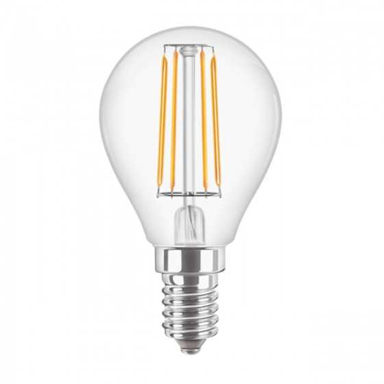 Bec LED Filament Philips 4.5W(40W) E14 P45 470 lm 2700K Clar