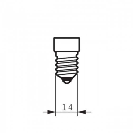 Bec LED Filament Philips 4.5W(40W) E14 Dimabil B35 470 lm 2700K Clar