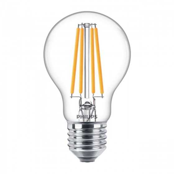 Bec LED Filament Philips 10.5W(100W) E27 A60 1521 lm 2700K Clar