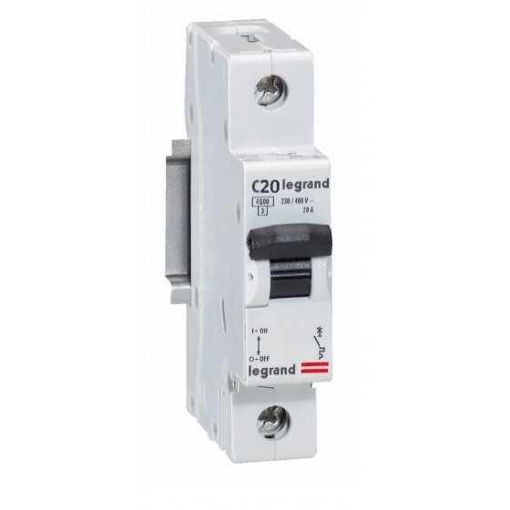 Disjunctor 419665 1P/C/20A/4.5KA