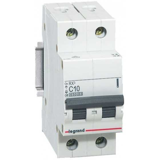 Disjunctor 419695 2P/C/10A/4.5KA