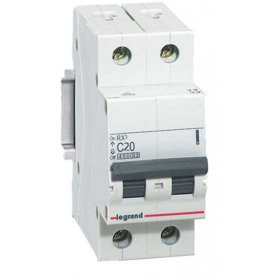 Disjunctor 419698 2P/C/20A/4.5KA