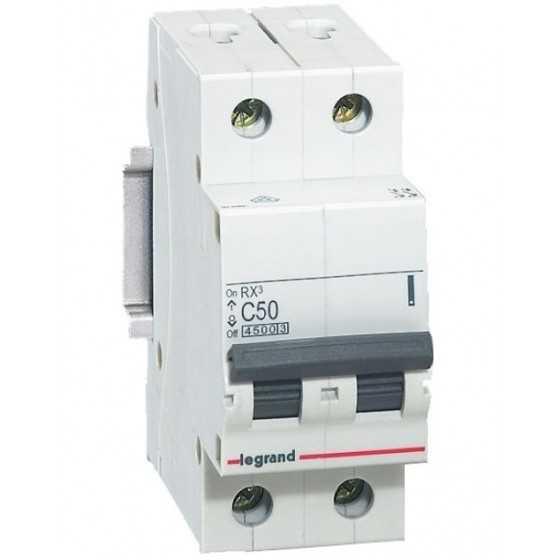 Disjunctor 419702 2P/C/50A/4.5KA