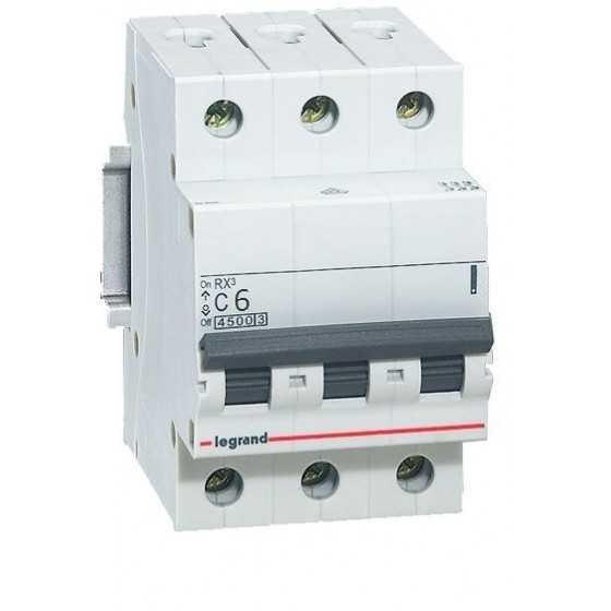 Disjunctor 419705 3P/C/6A/4.5KA