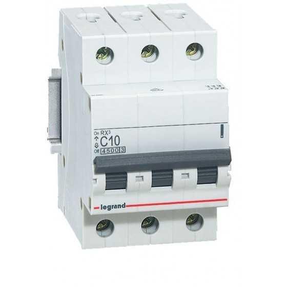 Disjunctor 419706 3P/C/10A/4.5KA