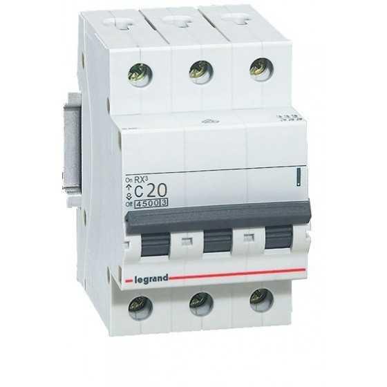 Disjunctor 419709 3P/C/20A/4.5KA