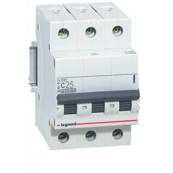 Disjunctor 419710 3P/C/25A/4.5KA