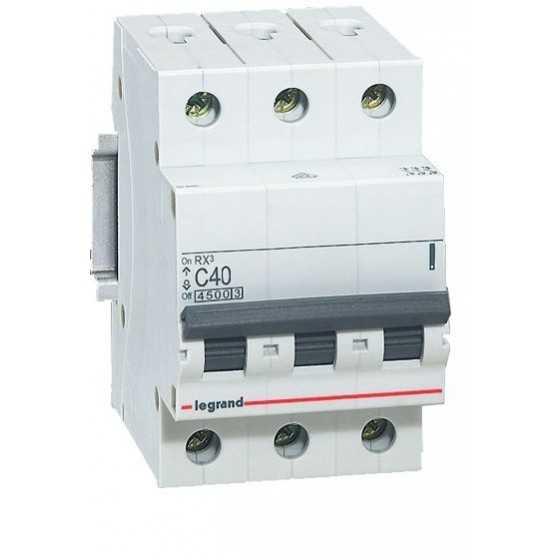 Disjunctor 419712 3P/C/40A/4.5KA