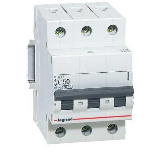 Disjunctor 419713 3P/C/50A/4.5KA