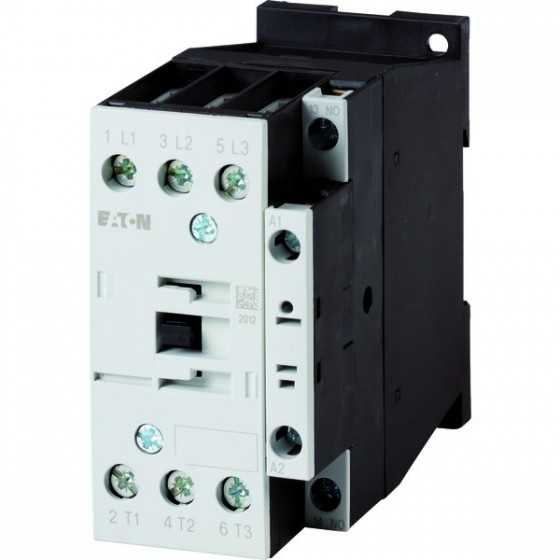 Contactor de putere DILM17-10 (RDC24) Contactor 7.5KW